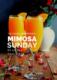 Mimosa Sunday