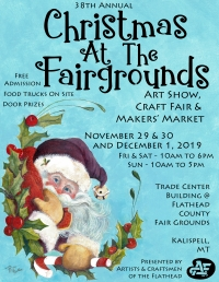 ACF Christmas Art Show, Craft Fair and Makers' Market