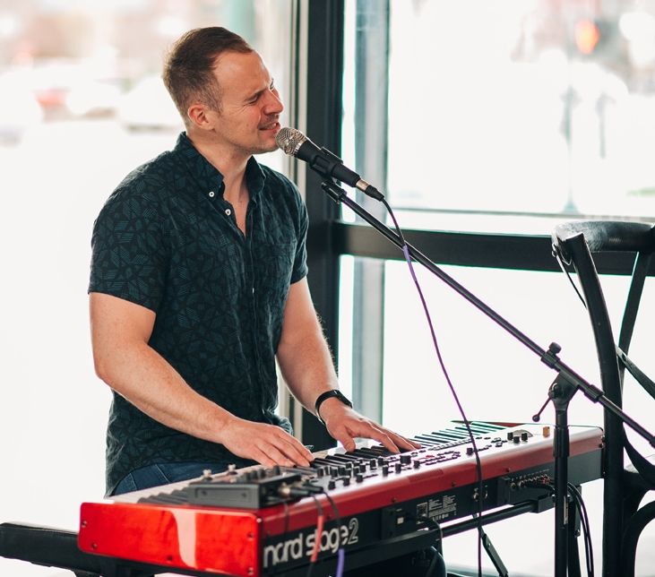 Live music at The Firebrand featuring Eric Alan