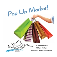 Pop Up Market at Waters Edge Winery & Bistro!
