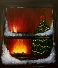 O Christmas Tree, Tipsy Brush Painting Party, Kalispell