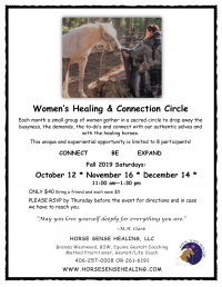 Women's Healing Circle with Horses