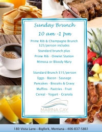 Sunday Brunch @ Marina Cay Resort