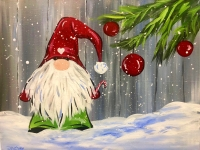 Gnome, Painting Part at Tipsy Brush Kalispell!