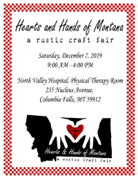Hearts and Hands of Montana, a rustic craft fair