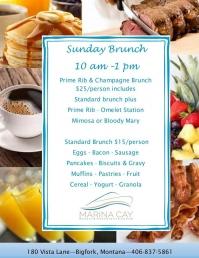 Sunday Brunch @ Marina Cay Resort