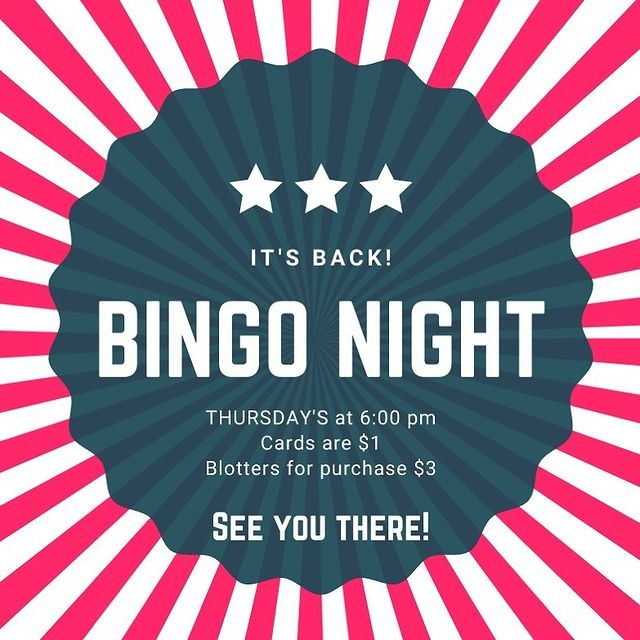 bingo night at gunsight saloon