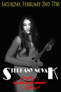 Live Music With Stephany Novak!