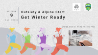 Outsiety & Alpine Start - Get Winter Ready!