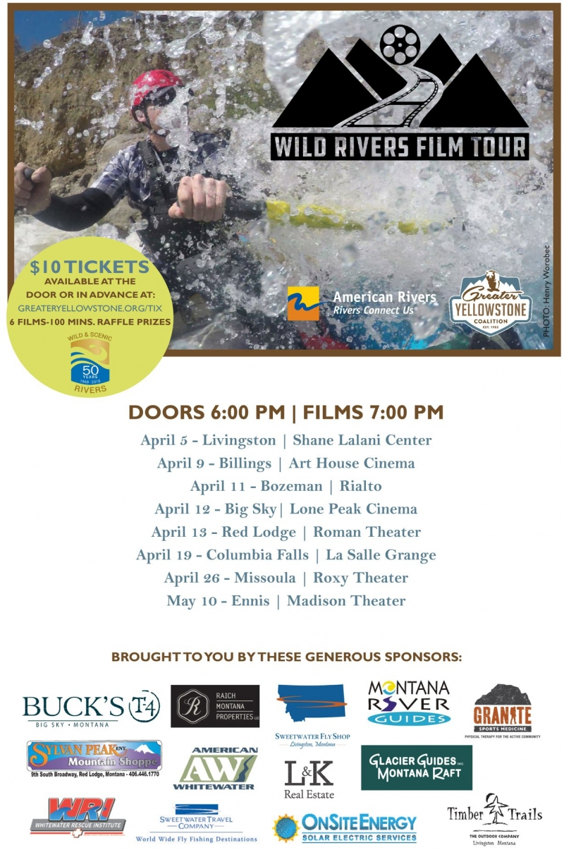 Wild Rivers Film Tour 04192018 Columbia Falls Montana The
