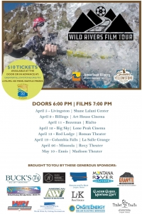 Wild Rivers Film Tour