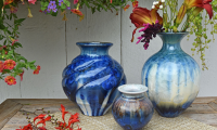 Saturday at the Mall with Bill Campbell Pottery
