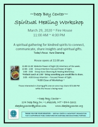 Spiritual Healing Workshop