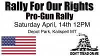 Rally For Our Rights / Pro-Gun Rally