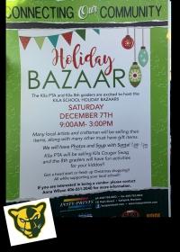 Kila School Holiday Bazaar