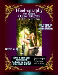 Heel-ography Pole Dance Workshop