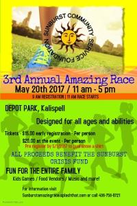 Sunburst's 3rd Annual Amazing Race