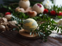 Sparkling Holiday Bath Bomb Workshop