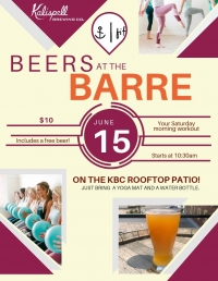 Beers at the Barre