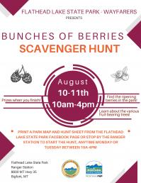 Bunches of Berries Scavenger Hunt