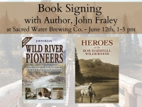 John Fraley, Book Signing @ Sacred Water Brewing Co.