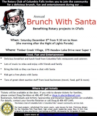 Columbia Falls Rotary Club's Brunch with Santa