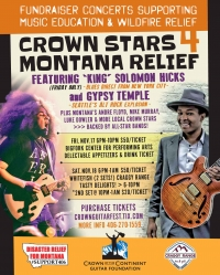 Crown Stars 4 Montana Relief fundraiser