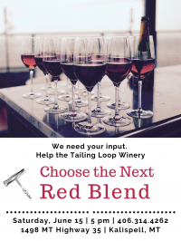 Choose the Next Red Blend
