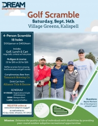 DREAM Adaptive Golf Scramble
