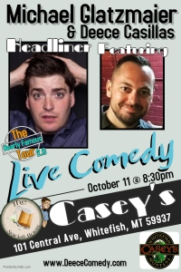 The Social Hour Comedy Night at Casey's