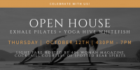 Exhale Pilates   Yoga Hive Whitefish Open House