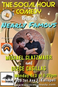 Nearly Famous Comedy at Bias Brewing