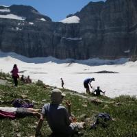 Exploring Glacier in July