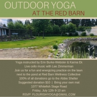 Outdoor Yoga with live cello music