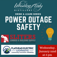 Drink & Learn Series: Power Outage Safety