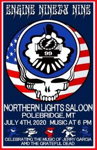 Engine Ninety Nine live at the Northern Lights Saloon