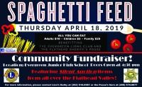 Spaghetti Feed Fund Raiser