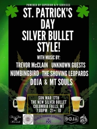 St. Patty's Concert at The Silver Bullet