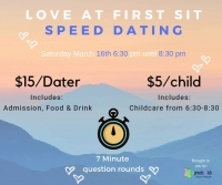 Love at first sit speed dating