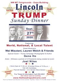 Lincoln, Reagan, TRUMP Sunday Dinner