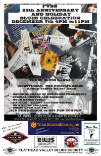 FVBS 25th Anniversary & Holiday Blues Celebration