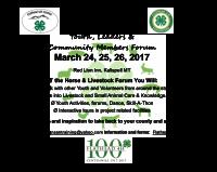 Horse & Livestock Youth, Leaders & Community Forum