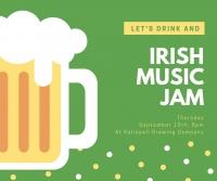 Open Irish Jam Night