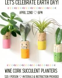 Corks & Crafts: Succulent Planters