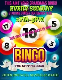 Bingo Sundays @ The Sitting Duck