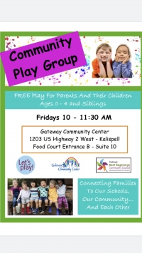 Community Playgroup for caregivers & children 0-4 years