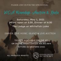 Whitefish Christian Academy Roundup, Auction & Gala