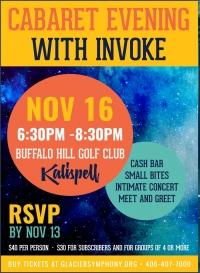 Cabaret Evening with INVOKE