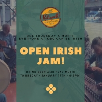 Open Irish Jam at KBC