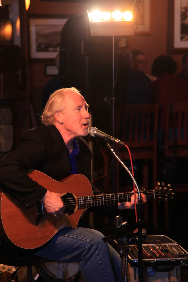 Live music at the Boat Club featuring John Dunnigan